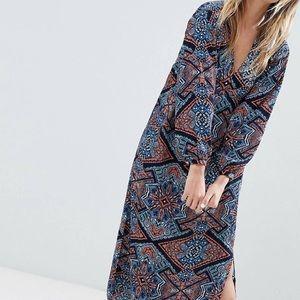 Maxi tunic dress